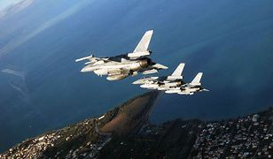 Rosjanie nad Bałtykiem. NATO wysłało polskie F-16
