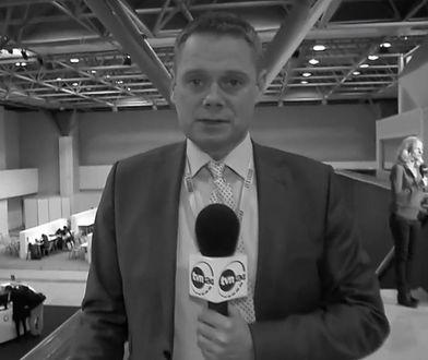 Rafał Poniatowski nie żyje. Dziennikarz TVN miał 48 lat