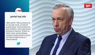 """Jacek Kurski o """"mordzie politycznym"""". Bogdan Zdrojewski odpowiada"""