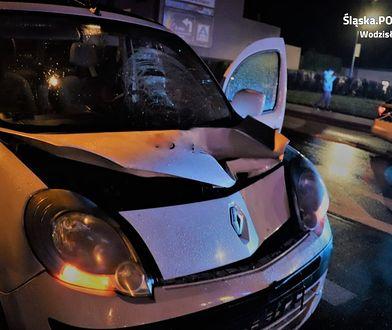 Kierowca renaulta śmiertelnie potrącił kobietę na pasach.