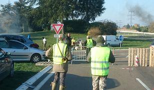 """Akcja """"żółtych kamizelek"""" w całej Francji"""