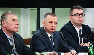 Prezes Najwyższej Izby Kontroli Marian Banaś podczas posiedzenia Sejmowej Komisji ds. Kontroli Państwowej