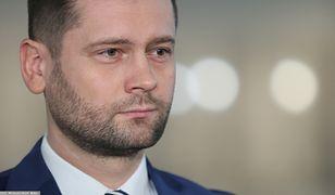 Kamil Bortniczuk, rzecznik prasowy Porozumienia.