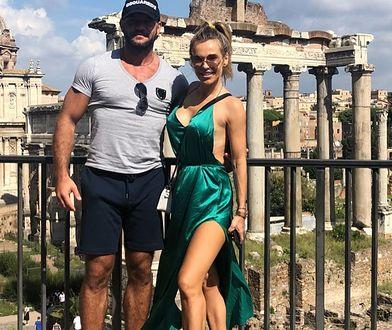 Doda promienieje u boku męża. Gorące zdjęcia prosto z Rzymu