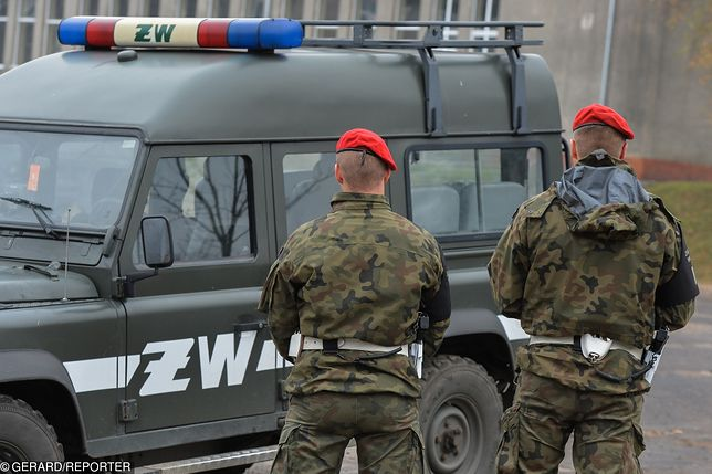 Lisów near Radom. The soldier acknowledged the attack on his wife
