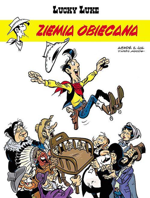 """Jak Żydzi podbili Dziki Zachód. Recenzja """"Lucky Luke: Ziemia obiecana"""""""
