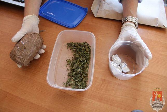 60 gramów marihuany w mieszkaniu na Woli