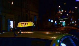 Warszawa. Manifestacja taksówkarzy po ataku na jednego z nich
