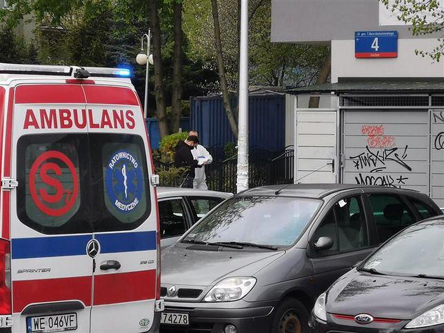 Warszawa. Strzały na Gocławiu. Do dramatycznych wydarzeń doszło w osiedlowej pralni chemicznej