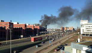 Płonie budynek przy Al. Jerozolimskich!