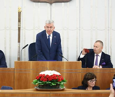 Marszałek Senatu IX kadencji Stanisław Karczewski.