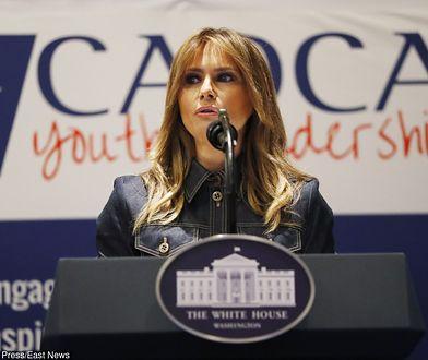 Melania Trump przez kilka tygodni nie pojawiała się publicznie