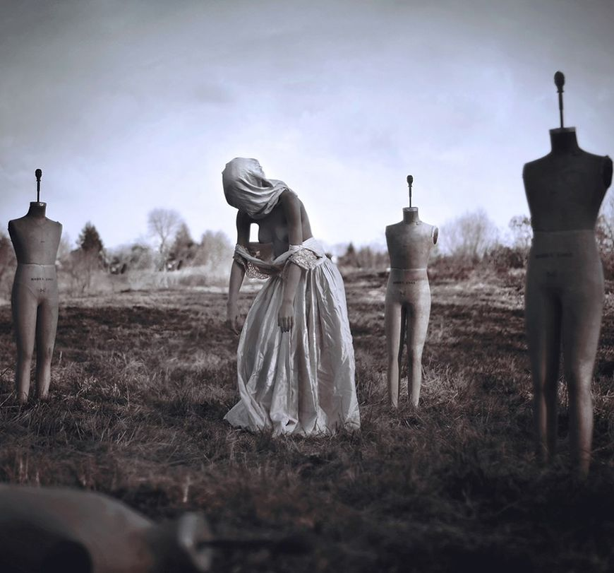 Sceny jak z horroru na fotografiach Nicolasa Bruno
