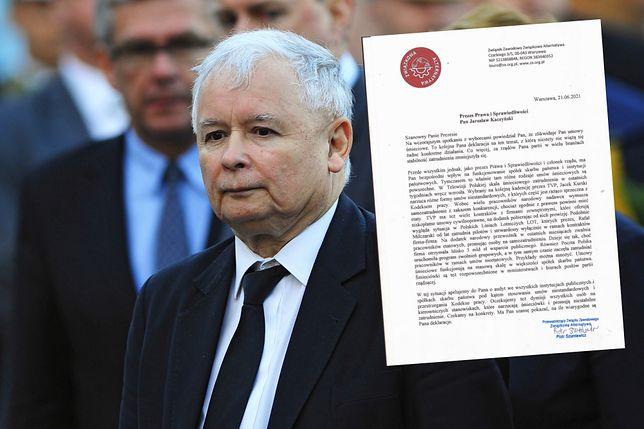 Związkowcy domagają się reakcji prezesa PiS