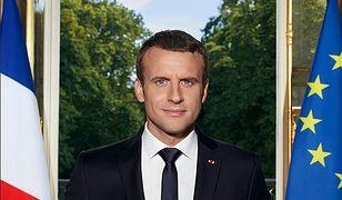 Oficjalny portret prezydenta Francji