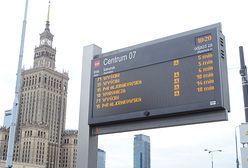 Warszawa. Zmiany w ruchu w nadchodzący weekend