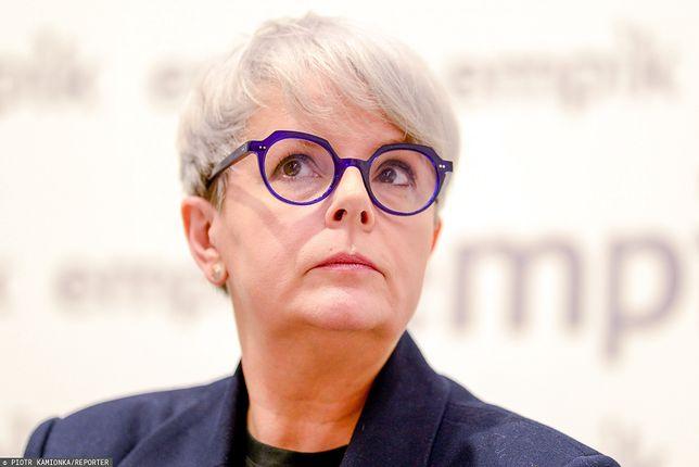 Karolina Korwin Piotrowska pokazała wiadomość od swojej obserwatorki