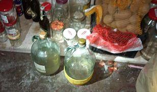 Ząbkowice Śląskie. Nielegalna fabryka alkoholu. 46-latek twierdzi, że produkował go dla siebie