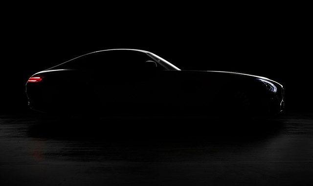 Pokazano sylwetkę Mercedesa AMG GT