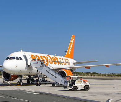 Awantura miała miejsce na pokładzie samolotu linii easyJet