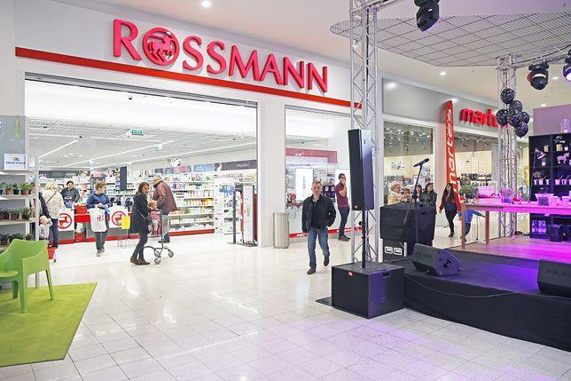 Promocja w Rossmannie.