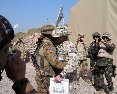 Mongolski żołnierz z Hilli spełnił swój obowiązek