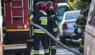 Duży pożar w Słupsku. W akcji kilkanaście zastępów