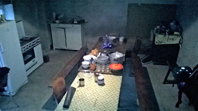 Kuchnia w miejscu, gdzie mieszkaliśmy podczas pracy w winnicy