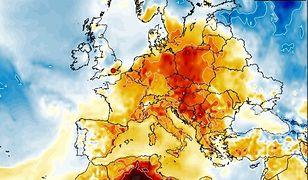 Pogoda. Zapowiadają się duże różnice temperatur. Mapa pokazuje anomalię temperatury w przyszłym tygodniu