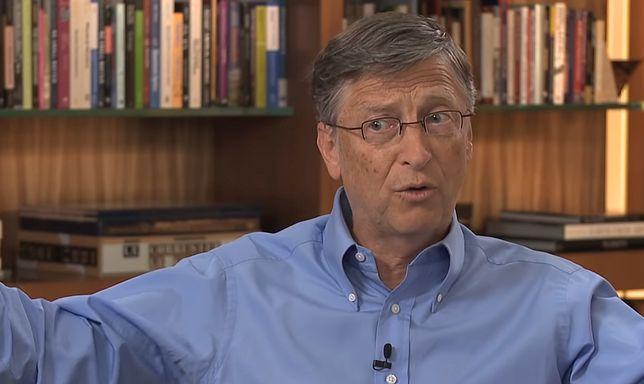 Bill Gates upiekł tort z okazji urodzin Warrena Buffetta