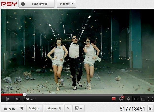 Najpopularniejszy filmik na Youtube - rekord wszech czasów pobity