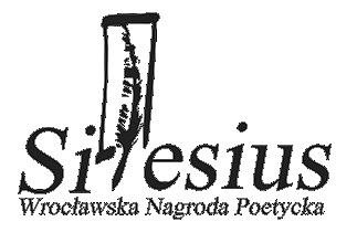 Wrocławska Nagroda Poetycka Silesius – 13 maja 2017