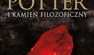 Harry Potter (#1). Harry Potter i Kamień Filozoficzny-okładka dla dorosłych