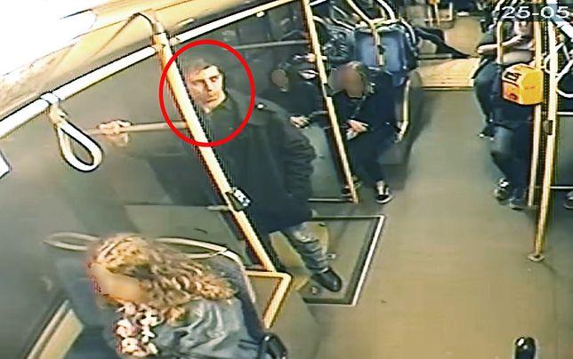 Mokotów. Policja publikuje zdjęcia poszukiwanego za rozbój
