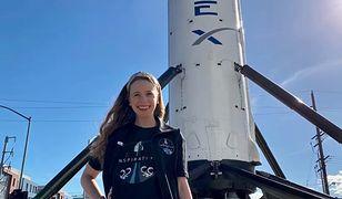 Elon Musk i SpaceX z historyczną misją. Inspiration 4 wielką szansą dla młodej Amerykanki