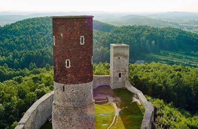 Zamek w Chęcinach, świętokrzyskie