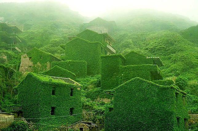 Houtouwan - porośnięta zielenią wioska w Chinach