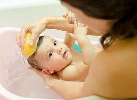 Higiena małego chłopca