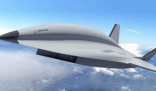 """Koncept naddźwiękowego """"następcy Blackbirda"""" zaprezentowany przez Boeinga."""