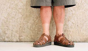 Sandały były noszone przez mężczyzn już w starożytności
