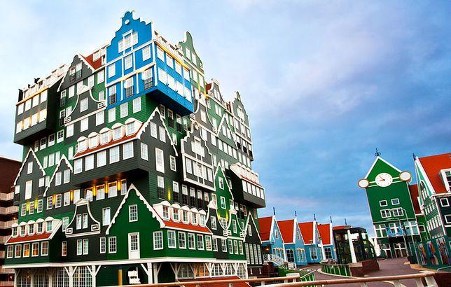 Najdziwiejsze hotele na świecie - Inntel Hotel Zaandam, Amsterdam, Holandia