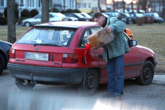 Benzyna za 3,50 - to się opłaca