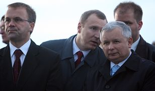 Jarosław Sellin, Jacek Kurski i Jarosław Kaczyński