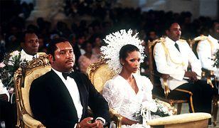 Prezydent Jean-Claude Duvalier i Michele Bennett. Fotografia ze ślubu, który odbył się 27 maja 1980 r.