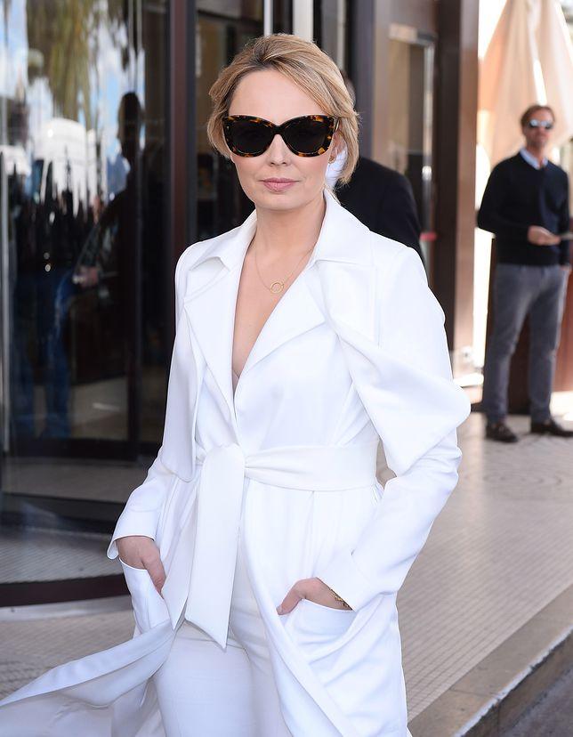 Agnieszka Jastrzębska: ciężko pracujemy w Cannes, nie ma czasu balować