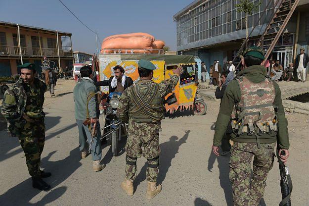 Eksplozja w bazie Bagram w Afganistanie. Wśród rannych jest polski żołnierz