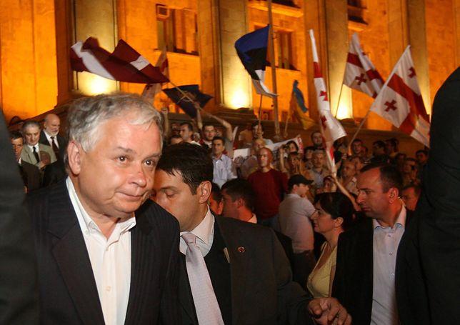 """Lech Kaczyński miał rację. """"Wiadomości"""" przypominają słowa prezydenta sprzed lat"""