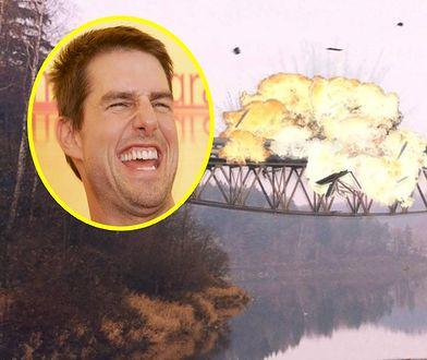 """""""Wysadziliśmy"""" most na Jeziorze Pilchowickim, żeby Tom Cruise już nie musiał"""