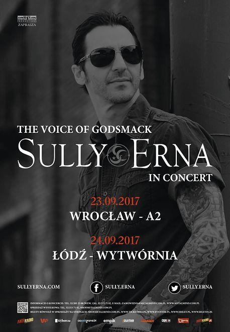 Sully Erna z Godsmack - bilety już w sprzedaży!
