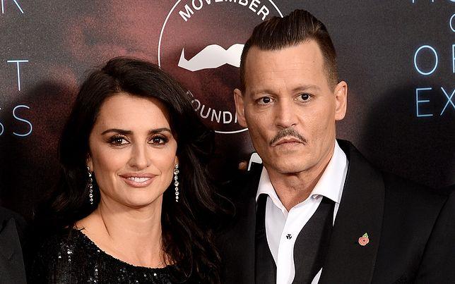 Penelope Cruz i Johnny Depp są wieloletnimi przyjaciółmi.